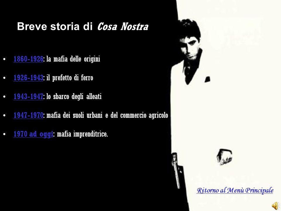 Breve storia di Cosa Nostra