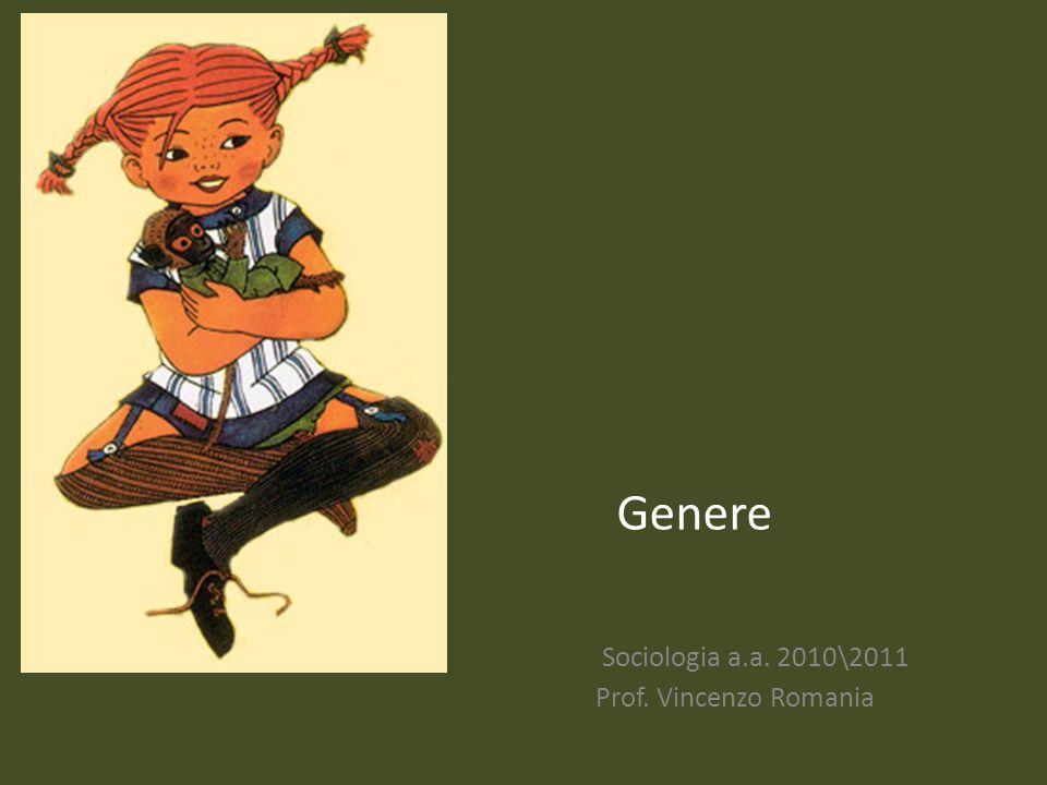 Sociologia a.a. 2010\2011 Prof. Vincenzo Romania