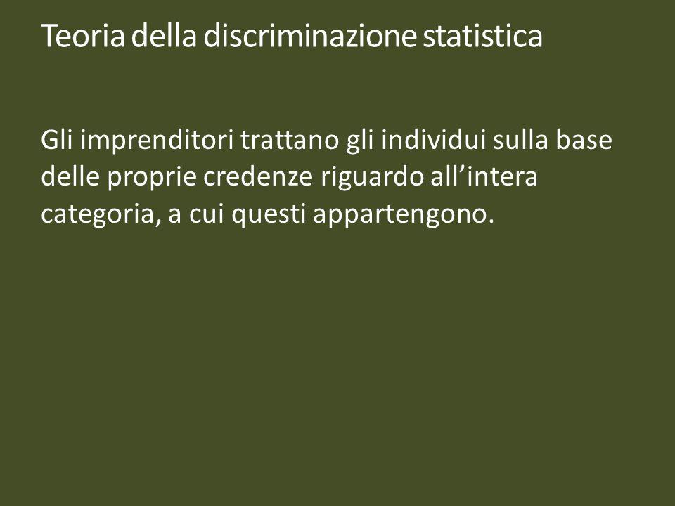 Teoria della discriminazione statistica