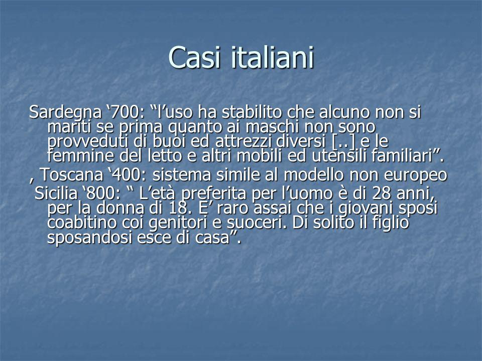 Casi italiani