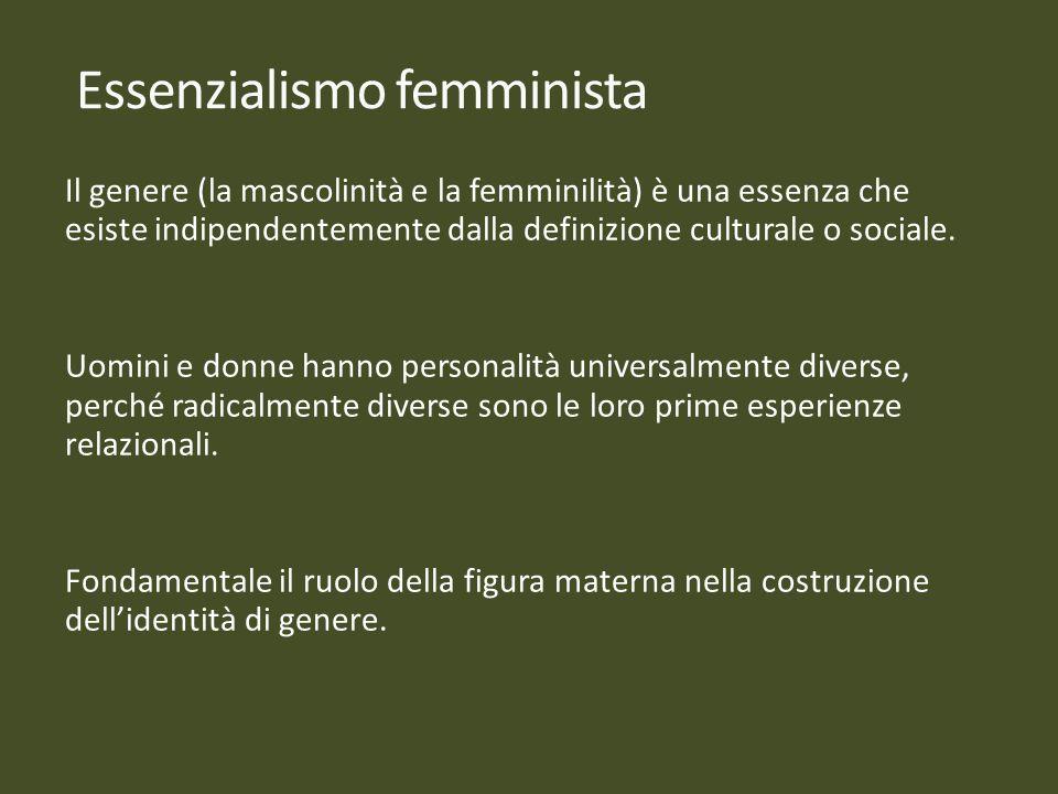 Essenzialismo femminista