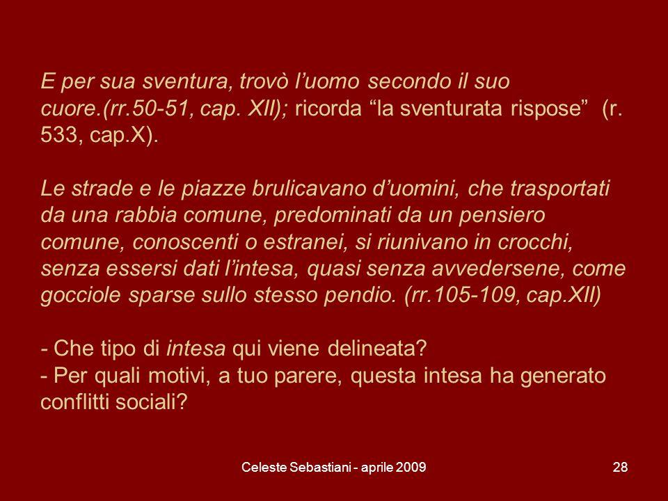 Celeste Sebastiani - aprile 2009