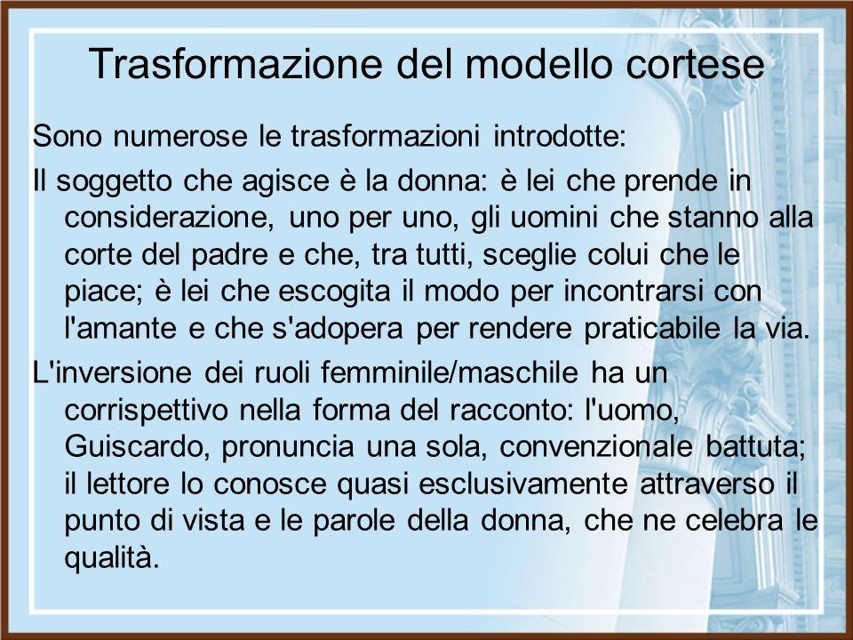 Trasformazione del modello cortese