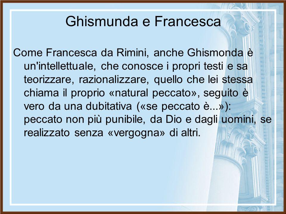 Ghismunda e Francesca