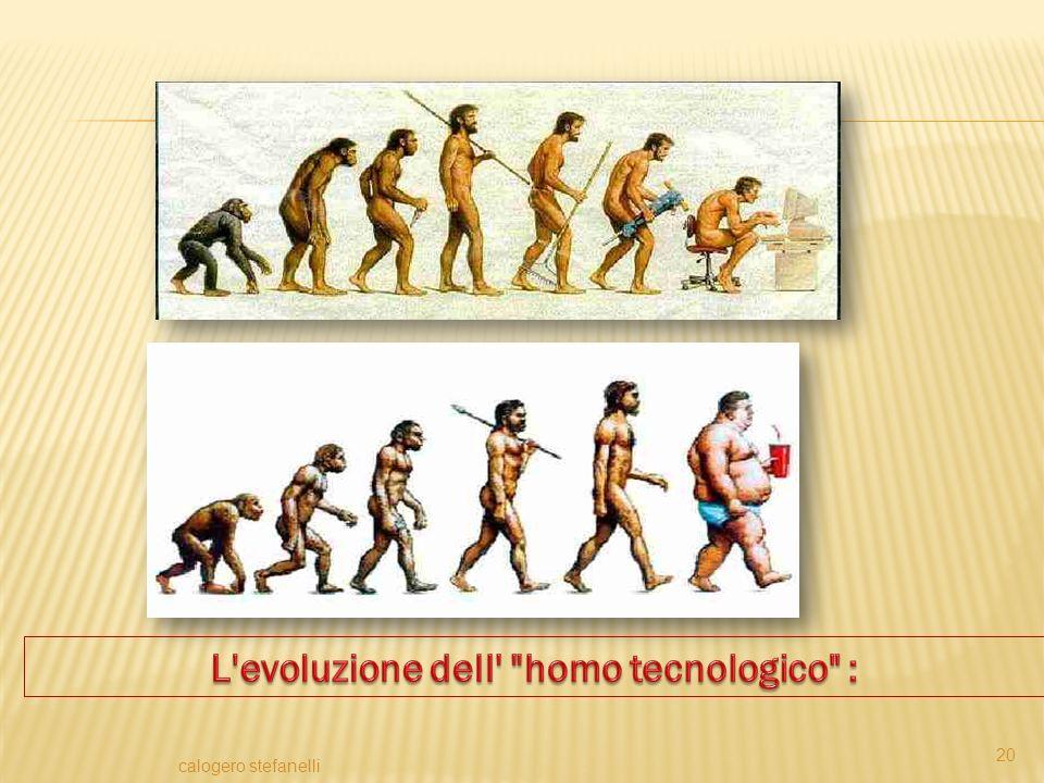L evoluzione dell homo tecnologico :