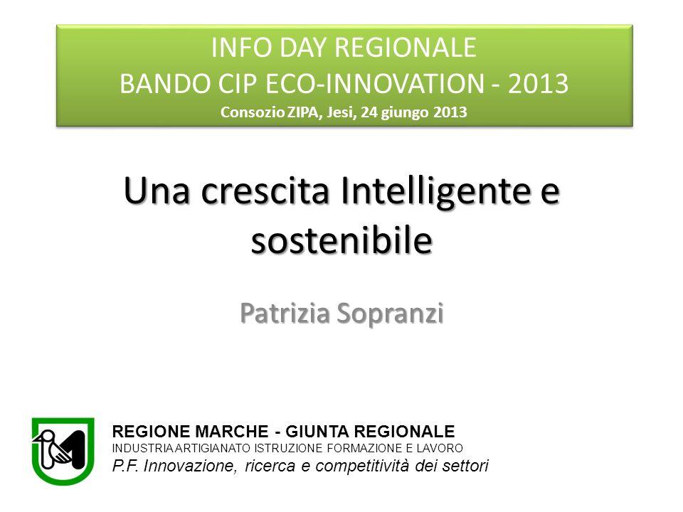 Una crescita Intelligente e sostenibile