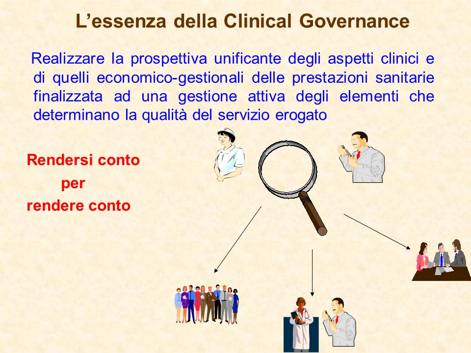 L'essenza della Clinical Governance