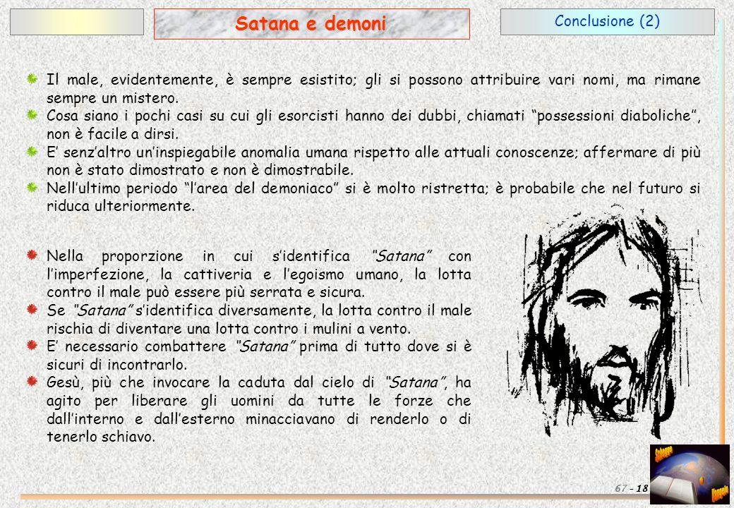 Satana e demoni Conclusione (2)
