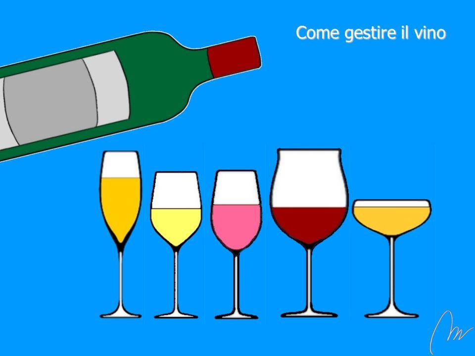 Come gestire il vino