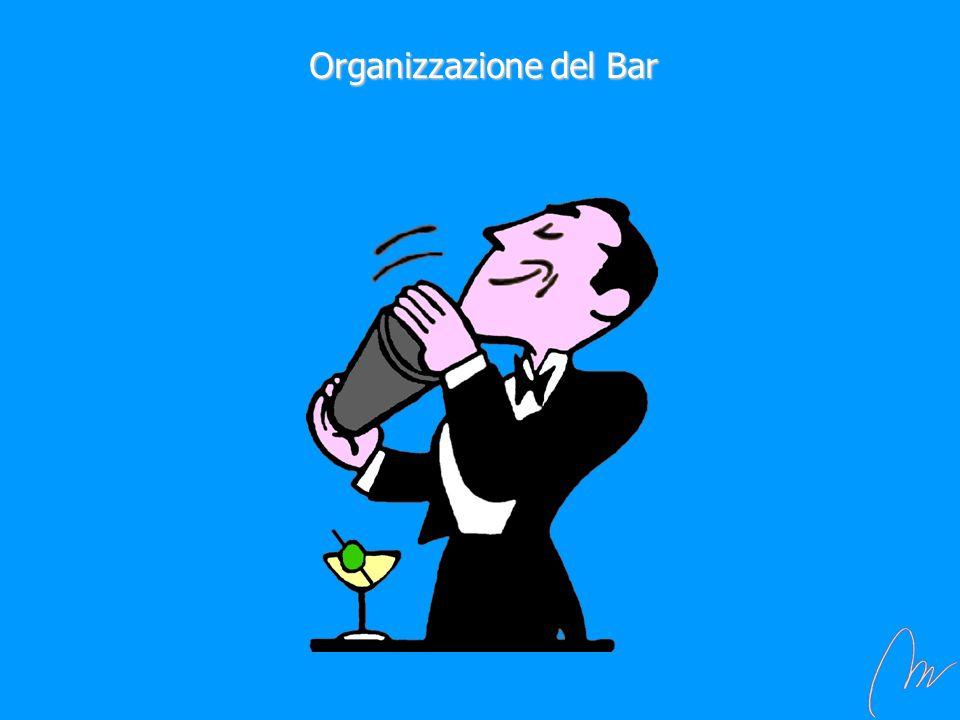 Organizzazione del Bar