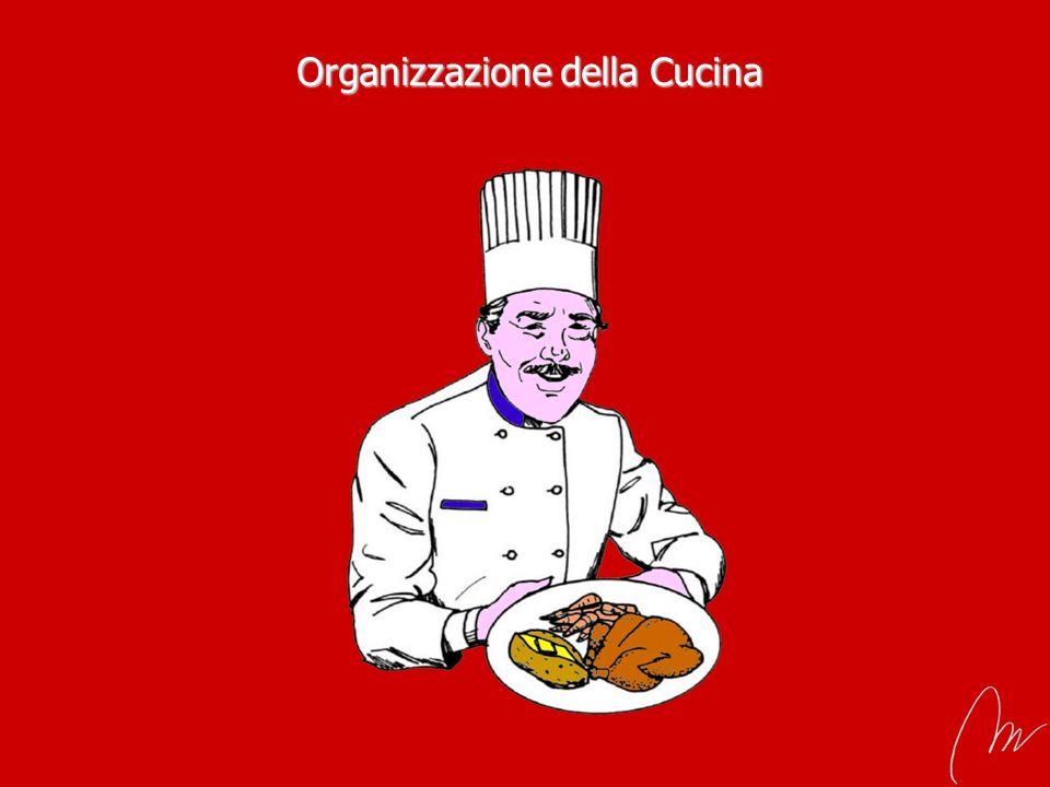 Organizzazione della Cucina