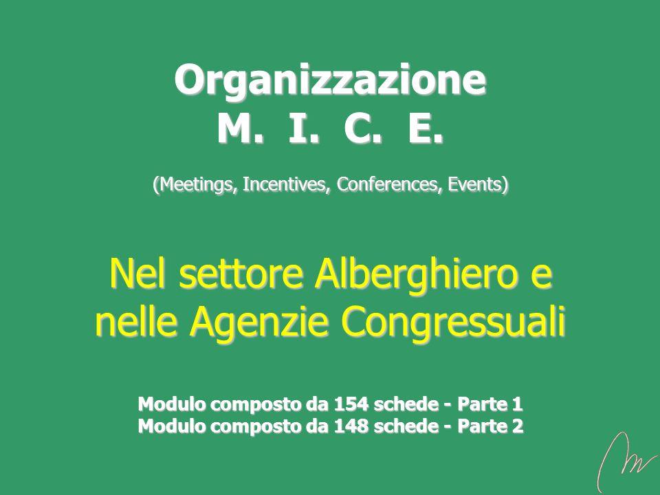 Organizzazione M. I. C. E.