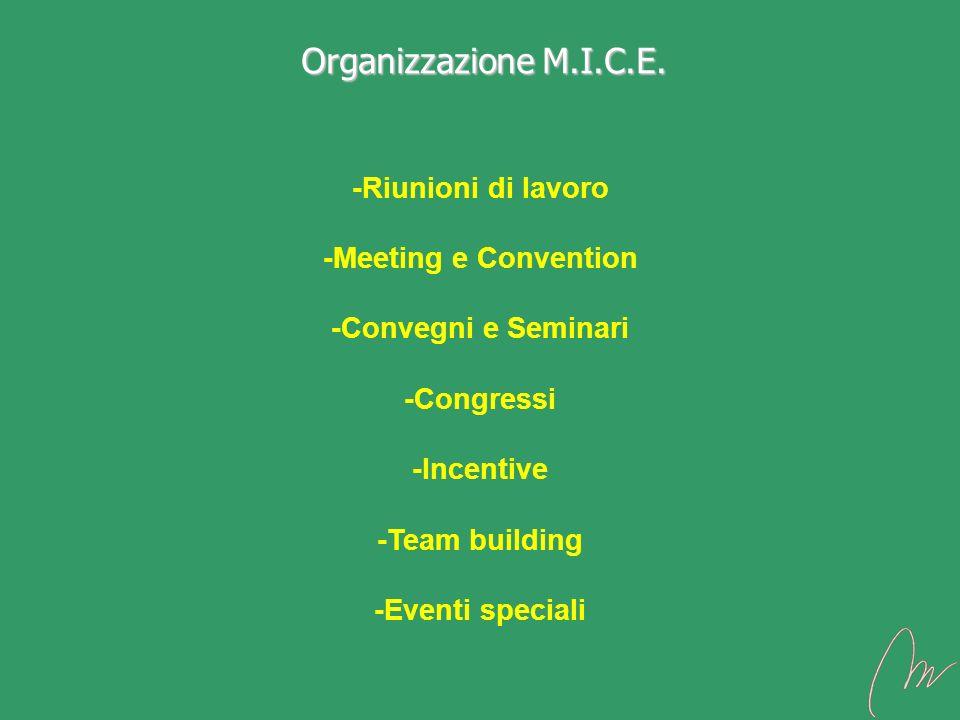 Organizzazione M.I.C.E.