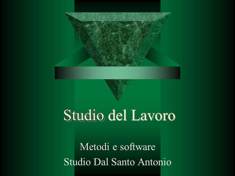 Metodi e software Studio Dal Santo Antonio