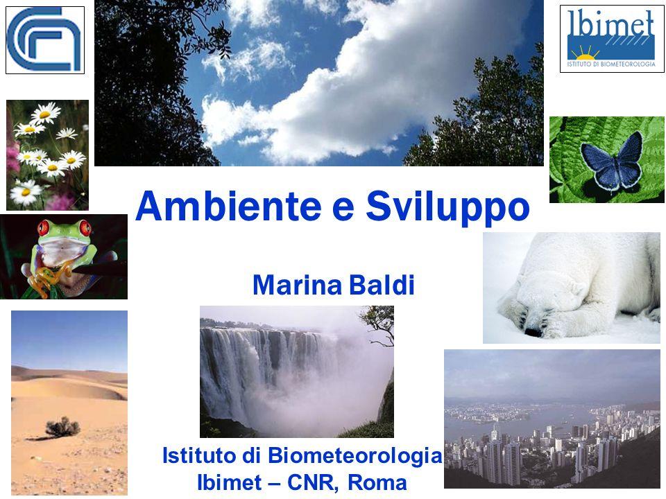 Ambiente e Sviluppo Marina Baldi