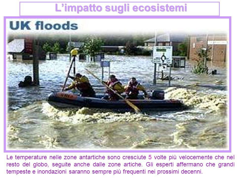L'impatto sugli ecosistemi