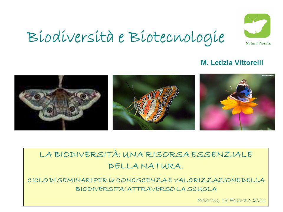 Biodiversità e Biotecnologie