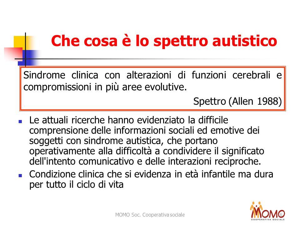 Che cosa è lo spettro autistico