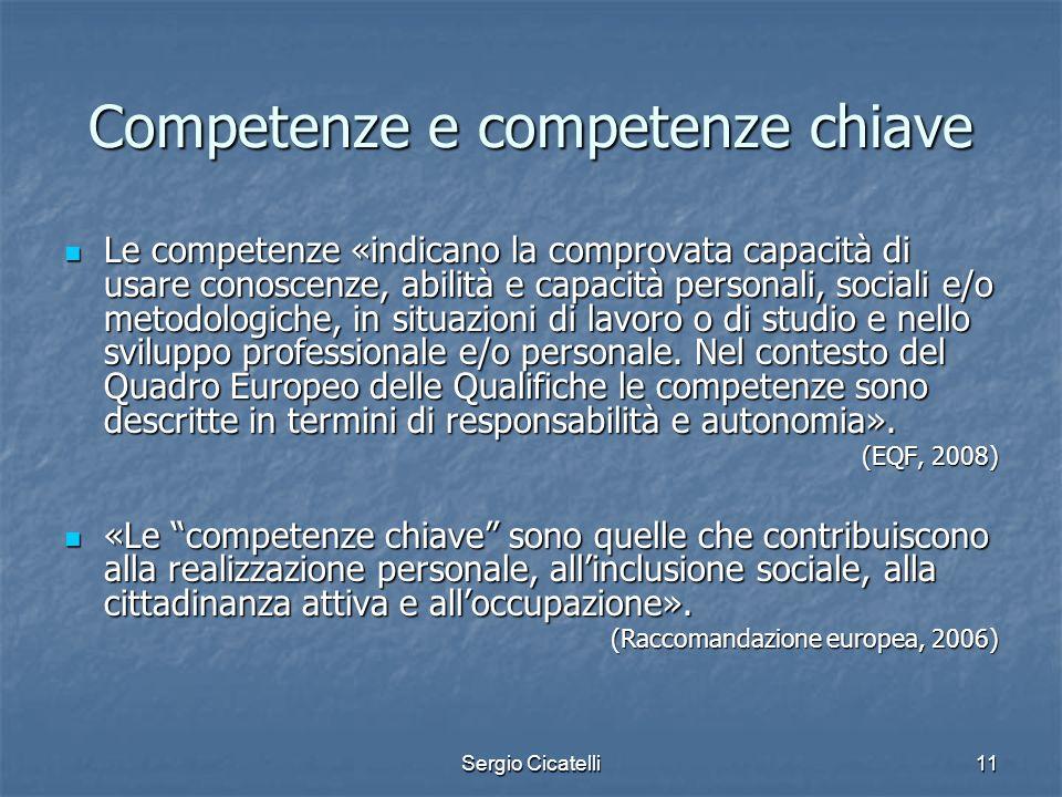 Competenze e competenze chiave