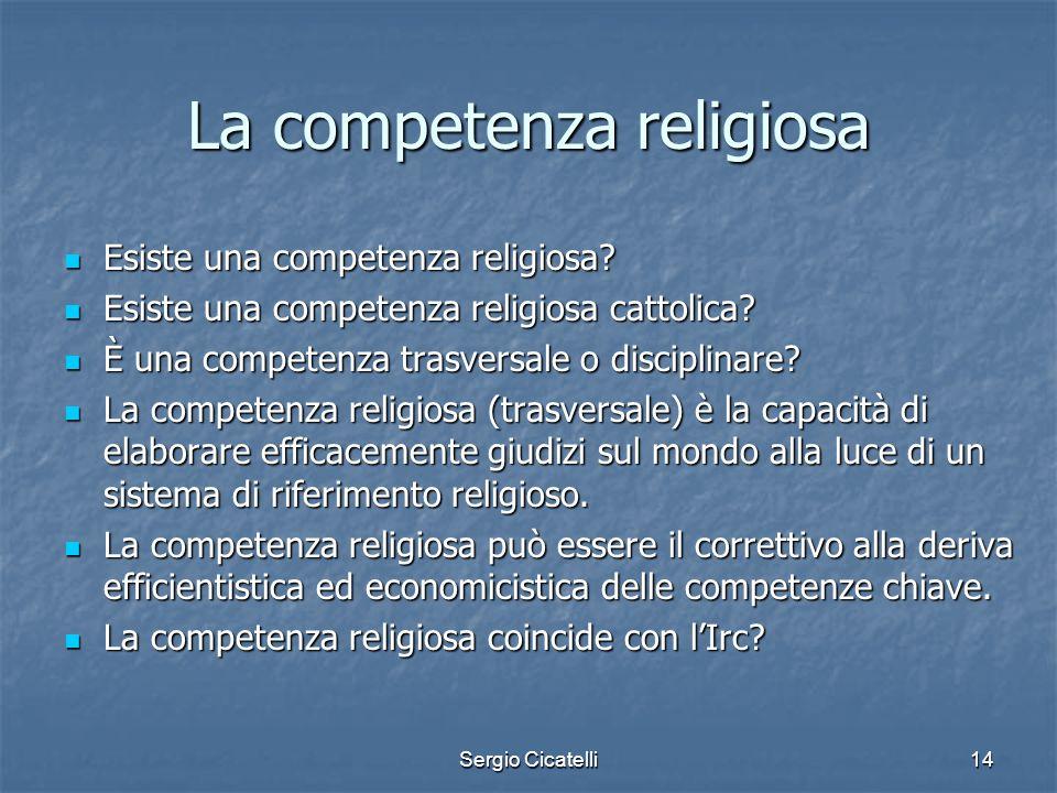 La competenza religiosa
