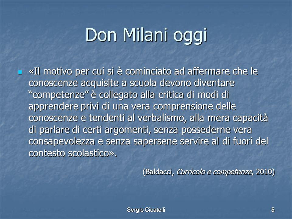 Don Milani oggi
