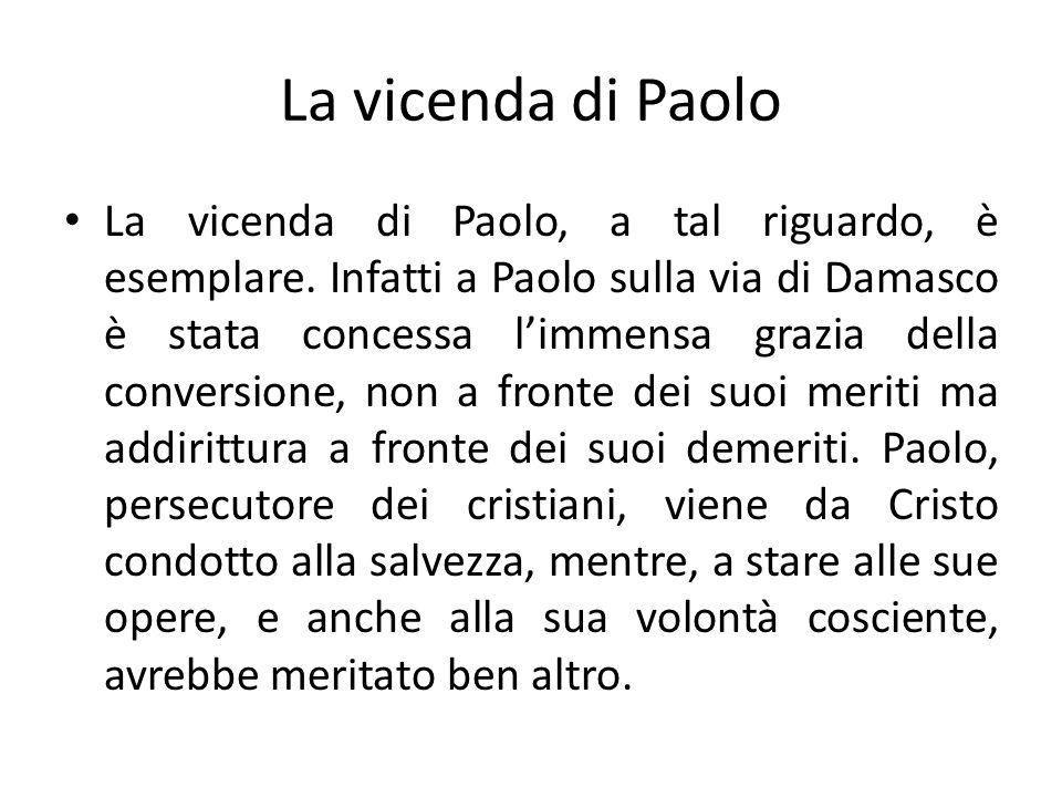 La vicenda di Paolo