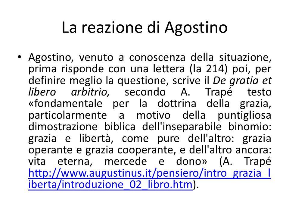 La reazione di Agostino