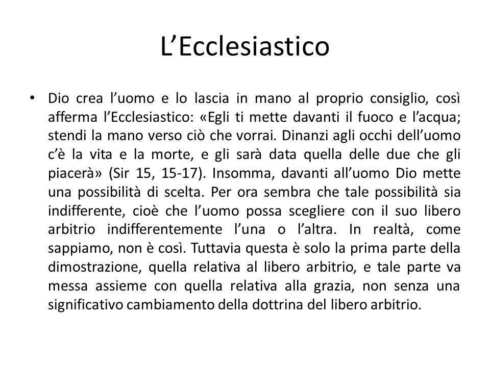L'Ecclesiastico