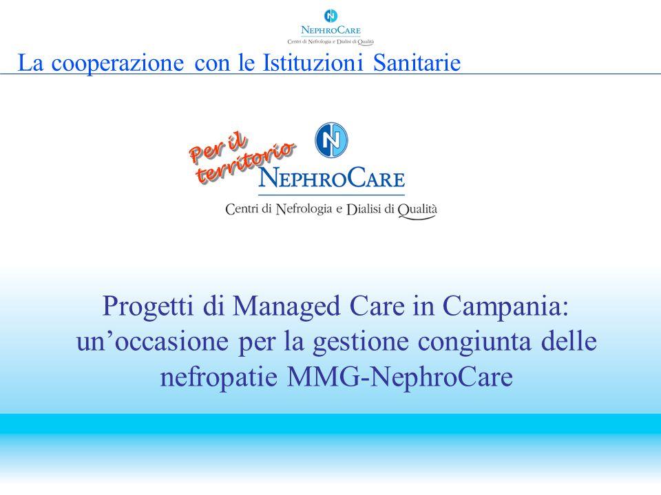 La cooperazione con le Istituzioni Sanitarie