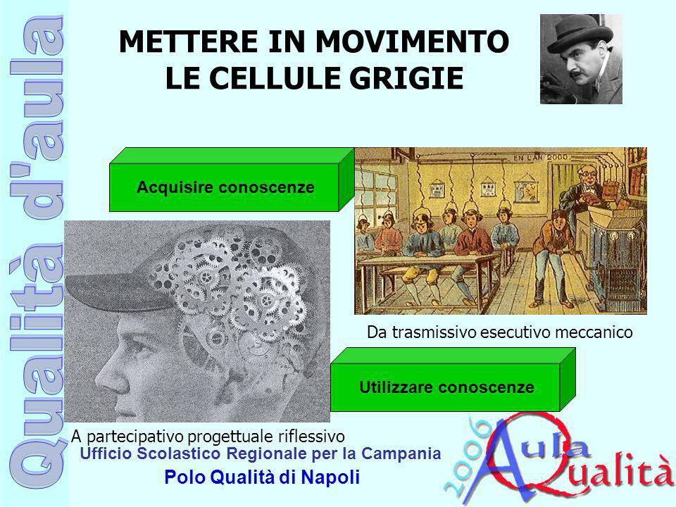 METTERE IN MOVIMENTO LE CELLULE GRIGIE