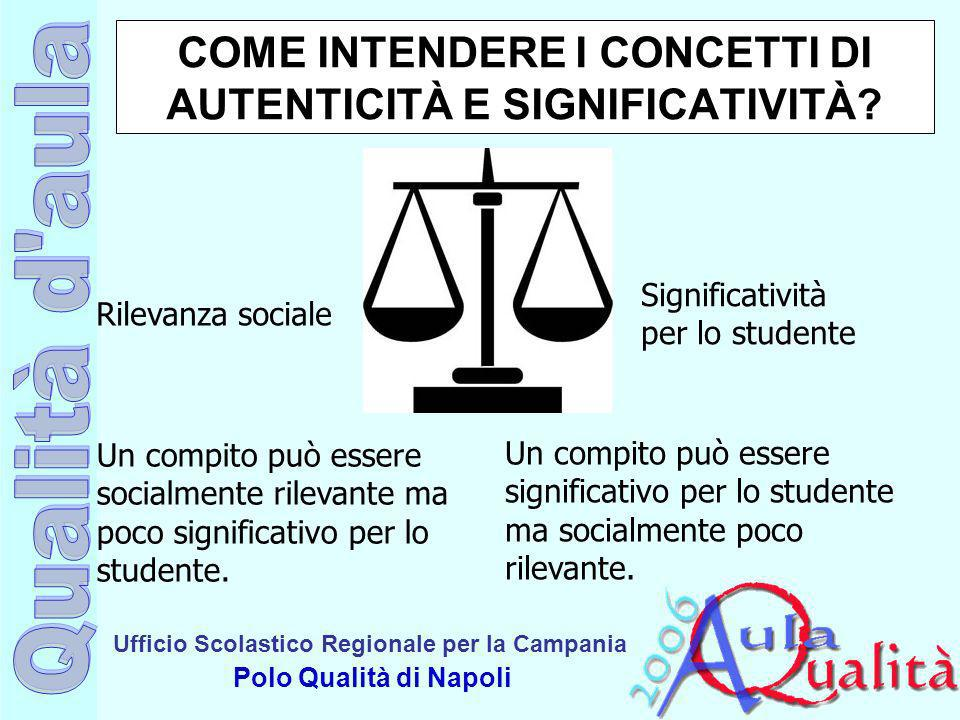 COME INTENDERE I CONCETTI DI AUTENTICITÀ E SIGNIFICATIVITÀ