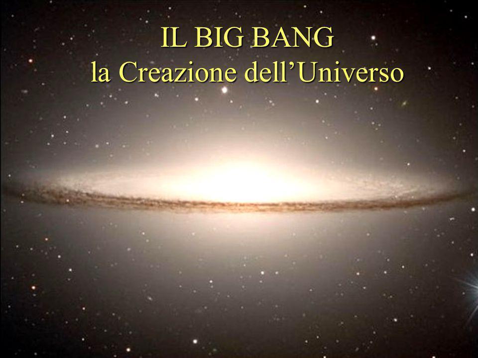 IL BIG BANG la Creazione dell'Universo