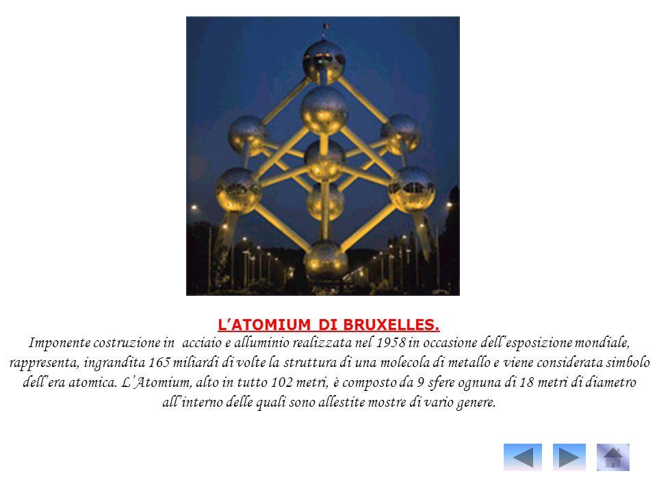 L'ATOMIUM DI BRUXELLES.