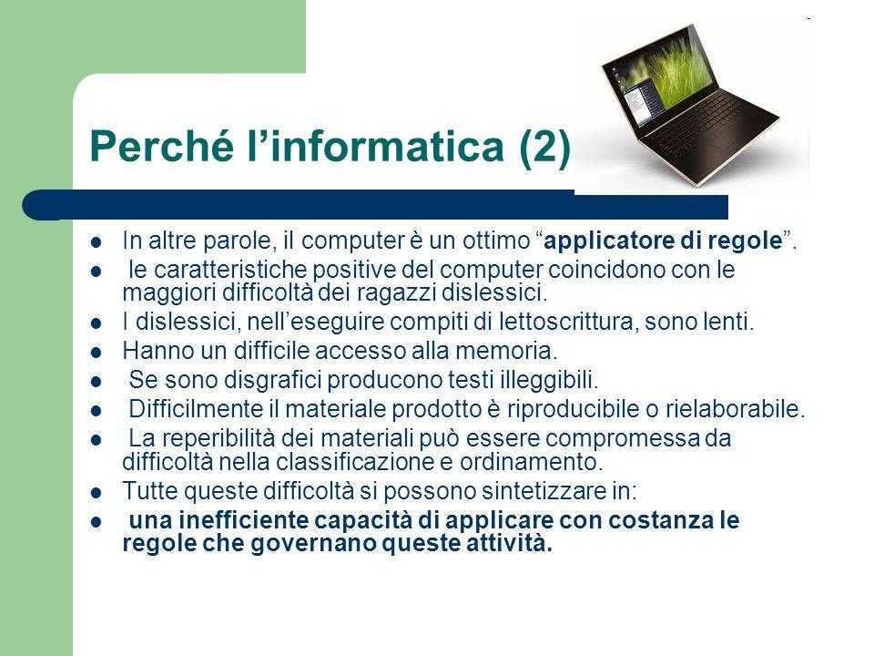 Perché l'informatica (2)