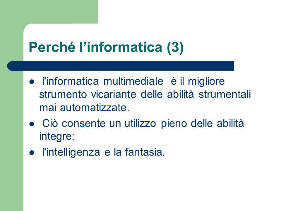 Perché l'informatica (3)
