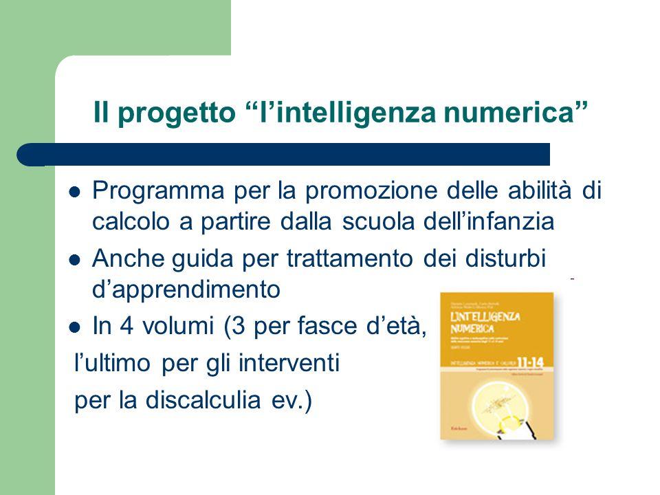 Il progetto l'intelligenza numerica