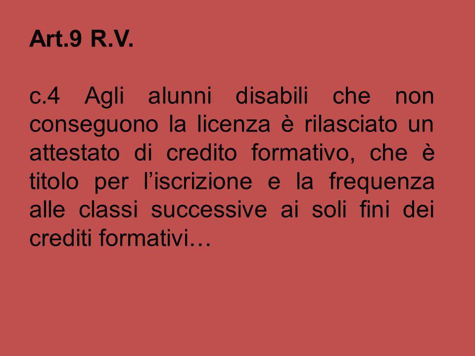 Art.9 R.V.