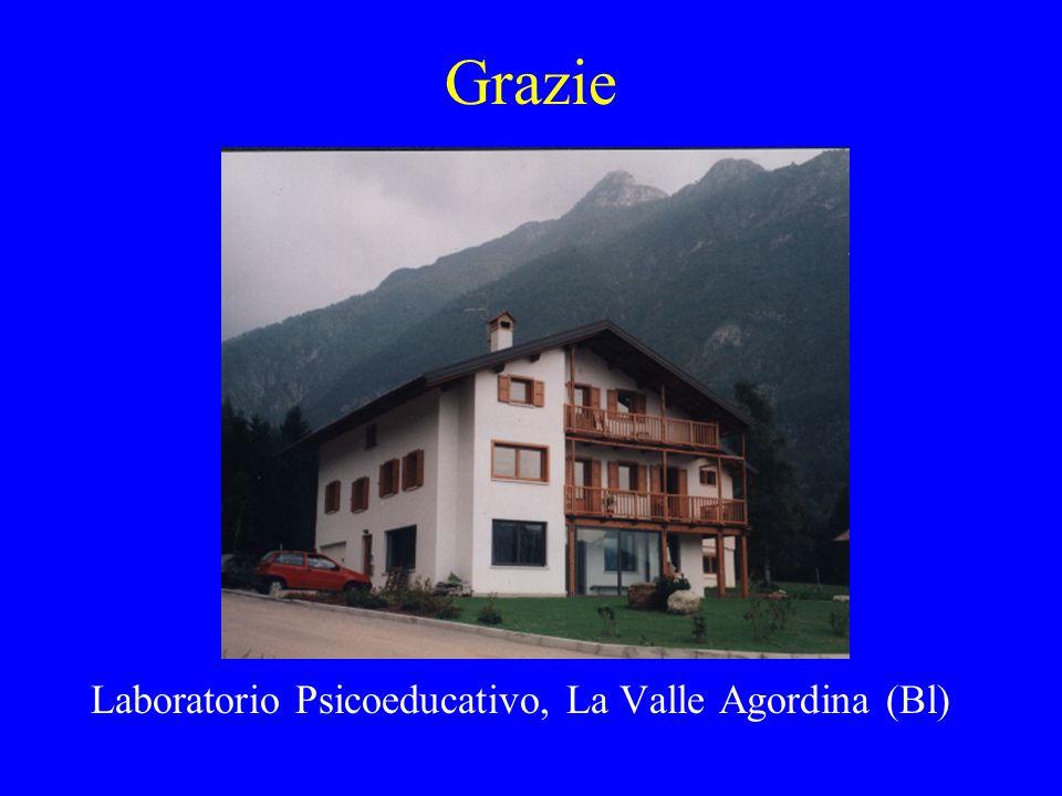 Grazie Laboratorio Psicoeducativo, La Valle Agordina (Bl)
