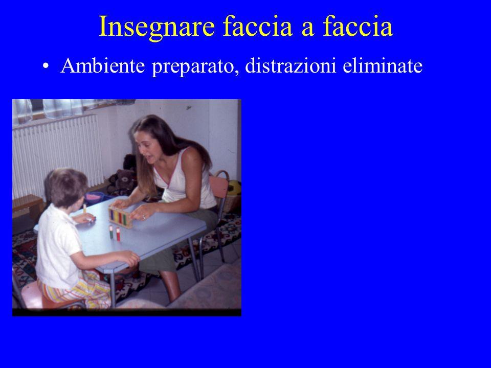 Insegnare faccia a faccia