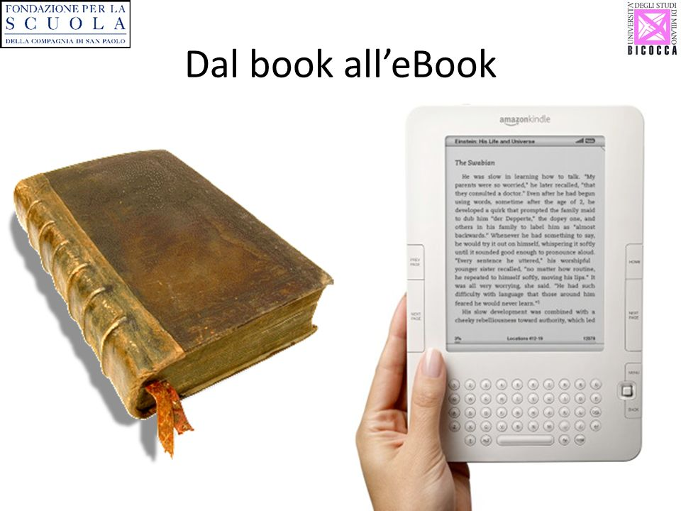 Dal book all'eBook
