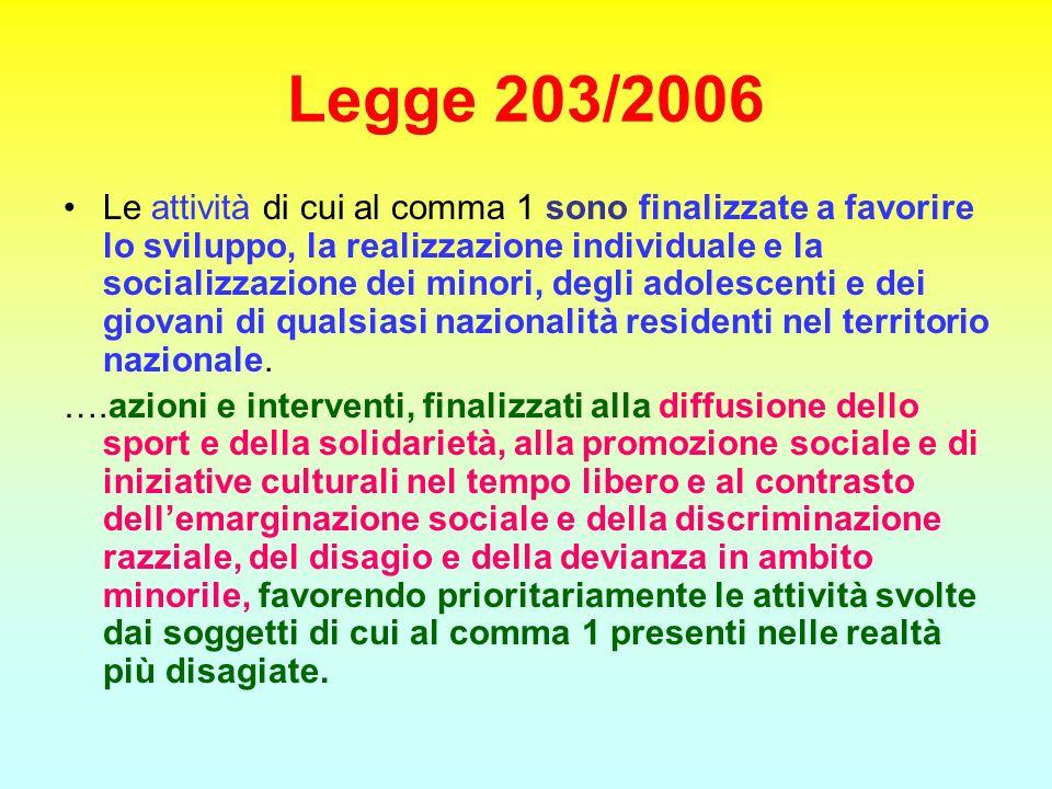 Legge 203/2006