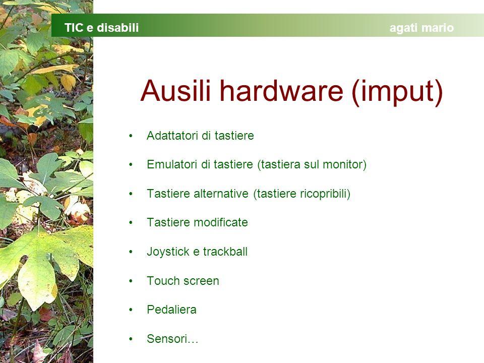 Ausili hardware (imput)