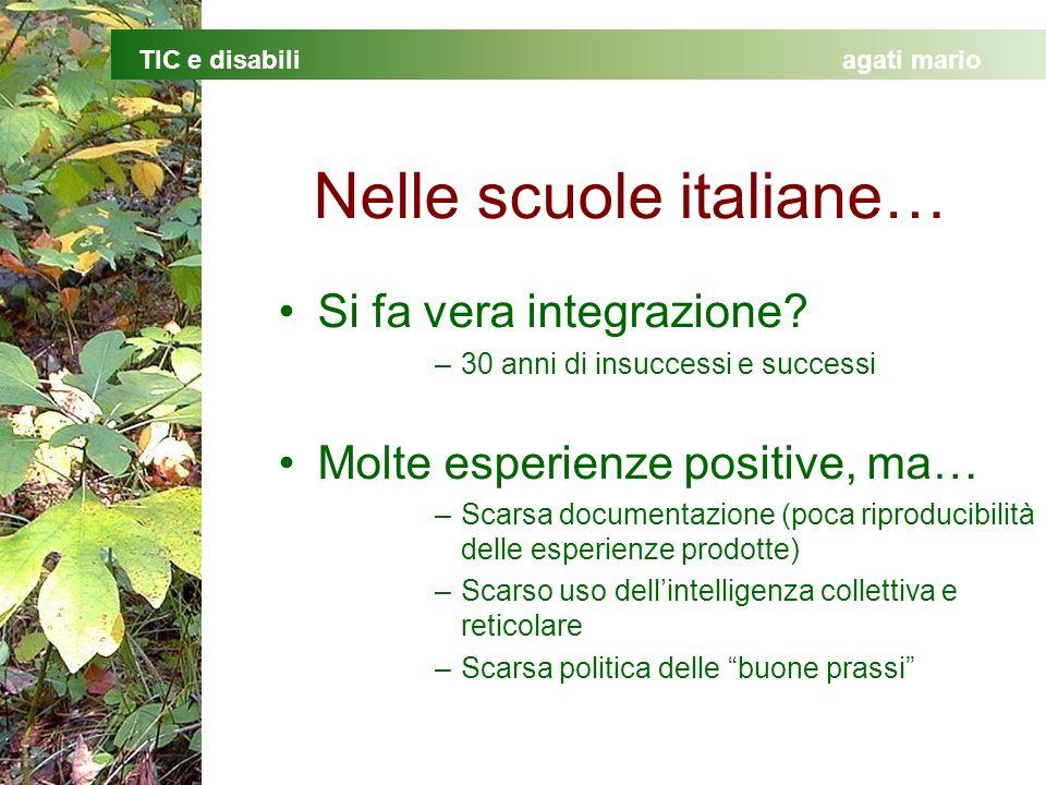 Nelle scuole italiane…