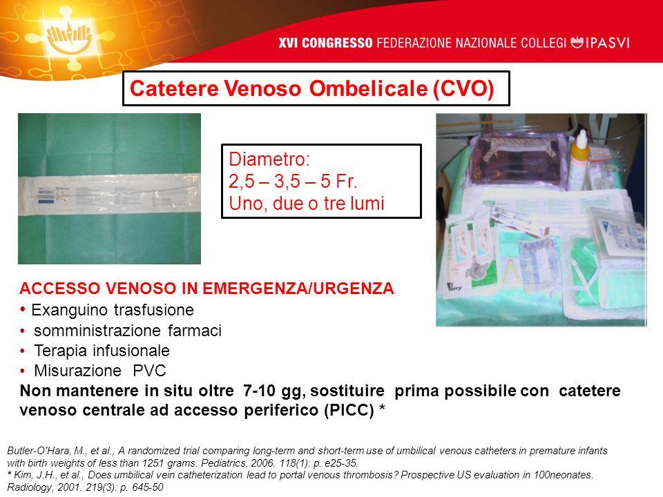 Catetere Venoso Ombelicale (CVO)