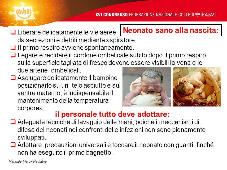 Neonato sano alla nascita: