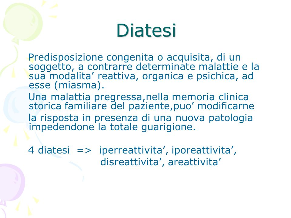 Diatesi