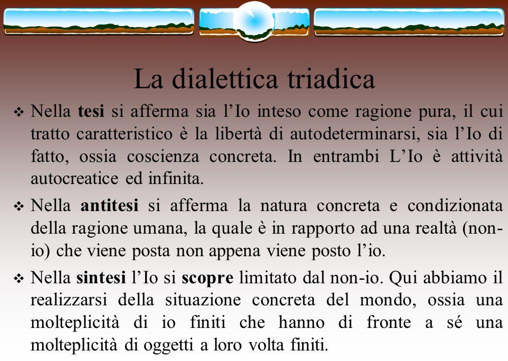 La dialettica triadica