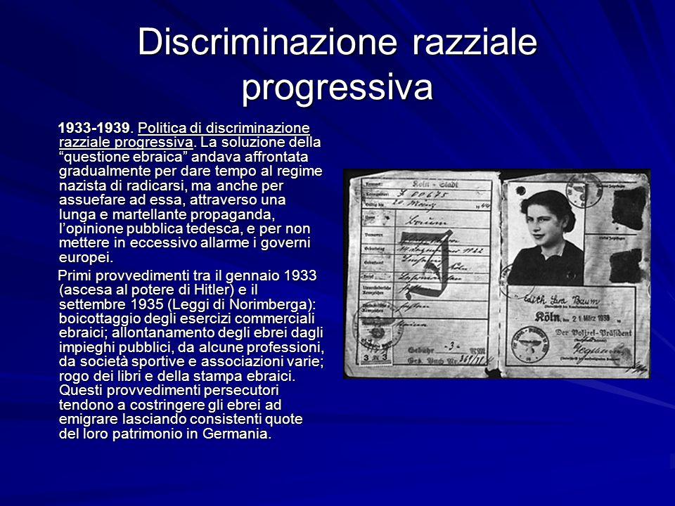Discriminazione razziale progressiva