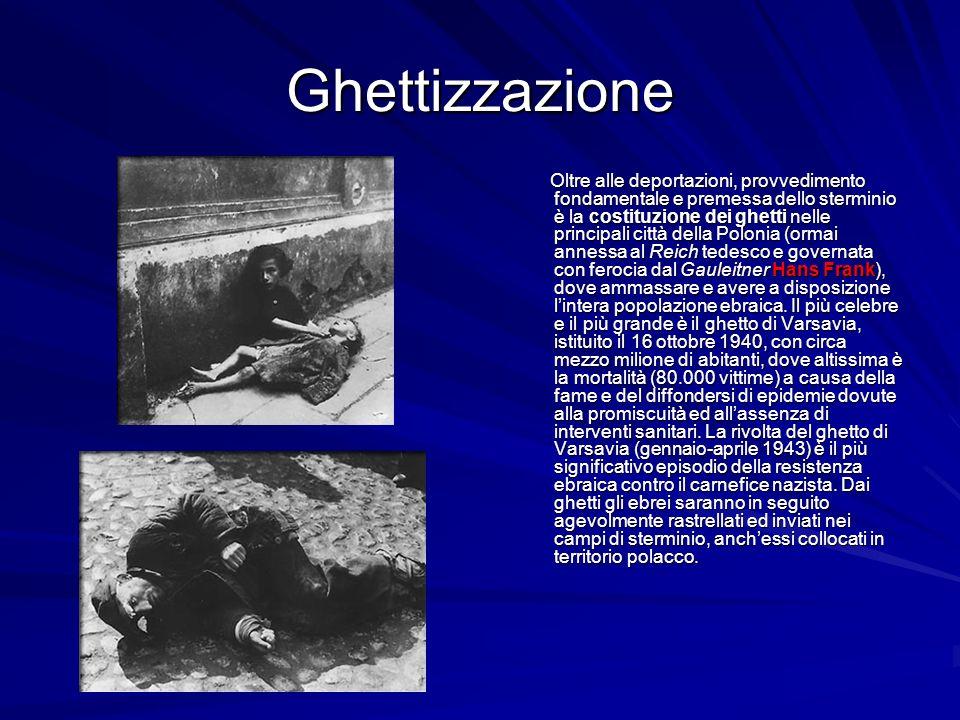 Ghettizzazione