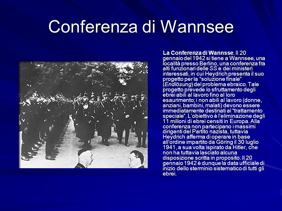 Conferenza di Wannsee